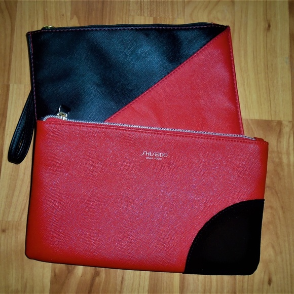 Shiseido Handbags - Final Markdown- 2 Shiseido Cosmetic Make Up Bags